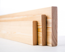 Profiled timber mouldings